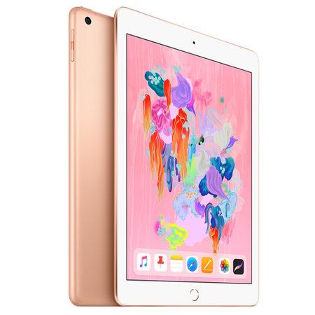 Apple iPad 苹果平板电脑 2018年新款9.7英寸(32G WLAN版/A10 芯片/Retina显示屏/Touch ID MRJN2CH/A)金色